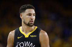 Klay Thompson Out For The Season With Achilles Tear