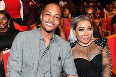 T.I. Teases Having Baby #8 With Tiny