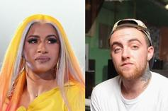 "Cardi B Addresses Social Media Bullying Mac Miller: ""Ya Don't Care Till Somebody Is Gone"""