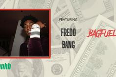 """Fredo Bang Talks Staying Out Of Trouble & """"Top"""" Remix With Lil Durk On """"BagFuel"""""""