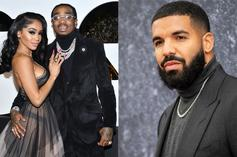 "Twitter Erupts With Drake Memes After Saweetie Tells Quavo To ""Take Care"""