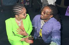 Quavo & Saweetie Could Both Be In Trouble Over Elevator Fight Video: Report