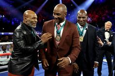 Mike Tyson Announces Lennox Lewis Fight In September