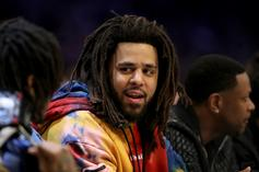 J. Cole Air Balls Three-Point Attempt During Second BAL Game
