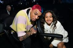 Chris Brown Celebrates Royalty's 7th Birthday With Princess-Themed Party