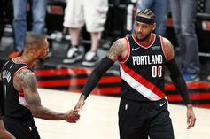 Carmelo Anthony Receives Massive Birthday Tribute From Blazers Fans