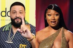 """DJ Khaled Previews Megan Thee Stallion's """"Thot Sh*t"""": """"They're Gonna Actually Air This?"""""""