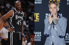 Lamar Odom Outweighs Aaron Carter By 80 Pounds During Weigh-In