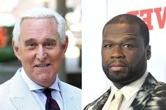 """Roger Stone Continues 50 Cent Beef Over Big Meech: """"You Punk Ass B*tch"""""""