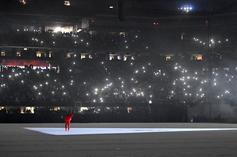 """Kanye West Is Living At Mercedes-Benz Stadium To Finish """"DONDA"""": Report"""