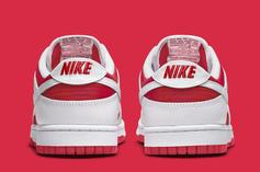 """Nike Dunk Low """"Championship Red"""" Drops Soon: Photos"""