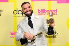 Drake Receives Custom Nike Air Force 1 From CLB Cover Artist