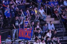 Knicks Fans Wild Out On The Streets Of New York Following Season Opener