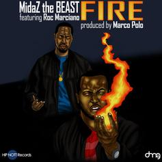 MidaZ The BEAST - Fire  Feat. Roc Marciano (Prod. By Marco Polo)