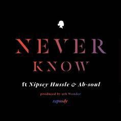 Rapsody - Never Know  Feat. Nipsey Hussle, Ab-Soul & Terrace Martin