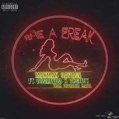 "03 Greedo & Ohgeesy Join ManMan Savage For ""She A Freak"""