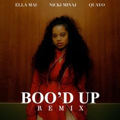"Nicki Minaj & Quavo Jump On The Remix To Ella Mai's ""Boo'd Up"""