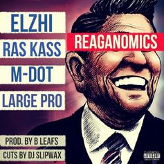 "B Leafs Taps Ras Kass, Elzhi, Large Professor, M-DOT For ""Reaganomics"""