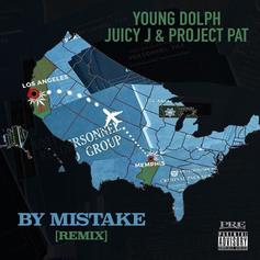 "Young Dolph Grabs Juicy J & Project Pat For ""By Mistake"" Remix"