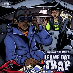 "AJ Tracey Connects With Unknown T ""Leave Dat Trap"""
