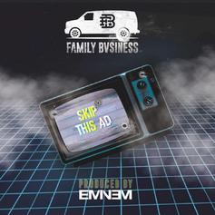 "KXNG Crooked & Family Bvisness Snap On Eminem Produced ""Skip This Ad"""