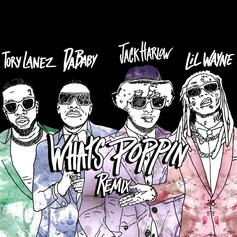 """Jack Harlow Taps Lil Wayne, DaBaby, & Tory Lanez For Crazy """"What's Poppin'"""" Remix"""
