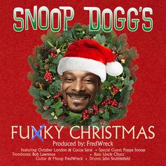 """Snoop Dogg Gets Groovy With """"Funky Christmas"""" Song"""