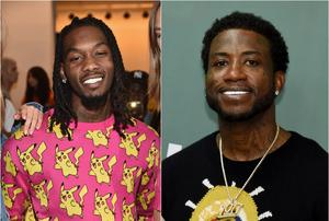 Gucci Mane & Offset Get Dapper Down In Mysterious Video Shoot