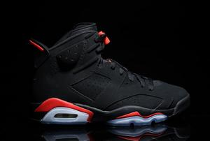 "Air Jordan 6 ""Black/Infrared"" Releasing Again During All-Star Weekend"