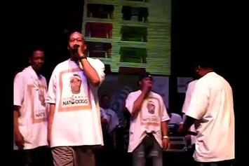 """Snoop Dogg, Warren G & Tha Dogg Pound """"Pay Tribute To Nate Dogg at Vibe's SXSW Showcase"""" Video"""