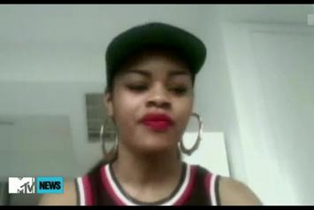 """Teyana Taylor """"Talks About Signing To G.O.O.D. Music"""" Video"""
