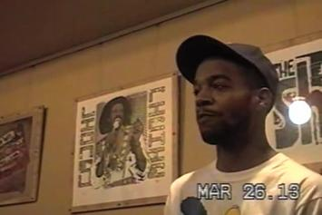 "Kid Cudi ""Jimmy Kimmel BTS (VHS Footage)"" Video"