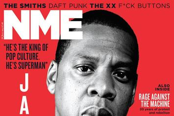 Jay-Z Covers NME Magazine