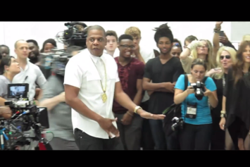 "Jay-Z ""BTS Of ""Picasso Baby"" At Pace Gallery"" Video"