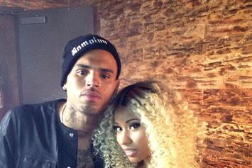 "BTS Photos: Chris Brown & Nicki Minaj's ""Love More"" Video Shoot"