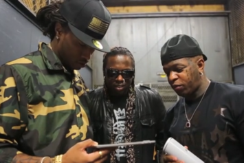 """Birdman """"""""Rich Gang"""" Release Day In NYC"""" Video"""