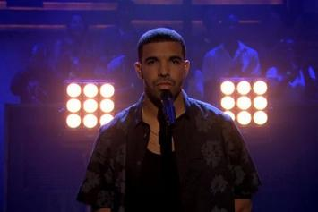 "Drake Debuts ""Too Much"" Live On Jimmy Fallon"