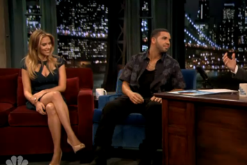 "Drake ""Talks Tour, Hits On Scarlett Johansson On Fallon"" Video"