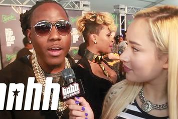 BET Hip Hop Awards Green Carpet With Kim Johansson