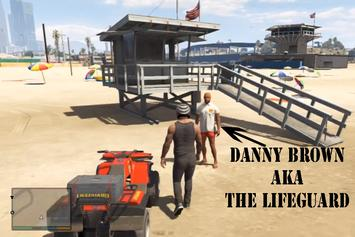 Danny Brown Voices A Lifeguard In Grand Theft Auto V