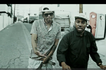 "Chuck Inglish Feat. Ab-Soul & Mac Miller ""Came Thru/Easily"" Video"