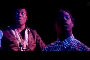 "Meek Mill Feat. Travis Scott, Birdman & Diddy ""I'm Leanin"" Video"