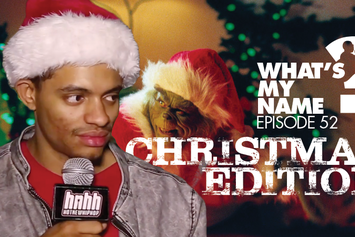 Christmas Hip Hop Edition: What's My Name Episode 52