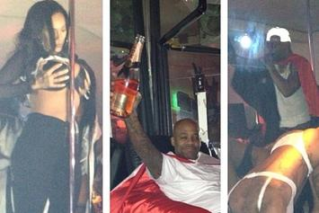 Photos: Cam'ron Celebrates His Birthday With Strippers & Dame Dash