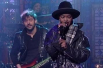 """Lauryn Hill Covers The Beatles' """"Something"""" On Letterman"""