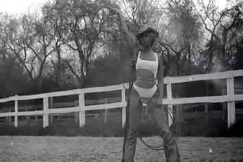"""Beyonce Feat. Kanye West & Jay Z """"Drunk In Love (Remix)"""" Video Trailer"""