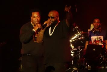 "Rick Ross Brings Out Busta Rhymes & The LOX At ""Mastermind"" Release Concert"