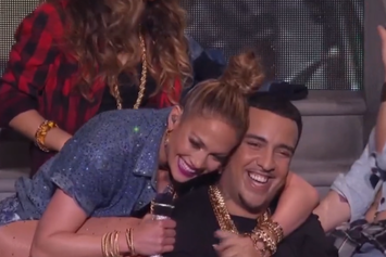 "Jennifer Lopez & French Montana Perform ""I Luh Ya Papi"" On American Idol"