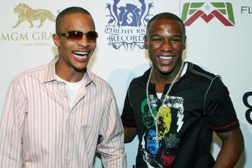 T.I. Incites Fight With Floyd Mayweather Jr. In Las Vegas [Update: Mayweather Speaks On Fight]