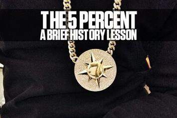 The Five Percent Nation: A Brief History Lesson